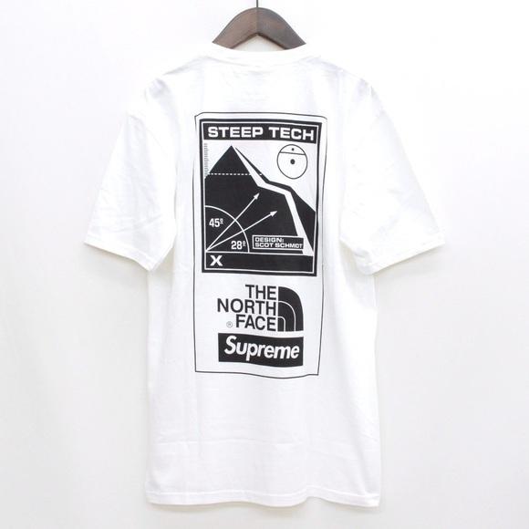 22b9f9bf Supreme Shirts | X North Face Steep Tech Tee | Poshmark
